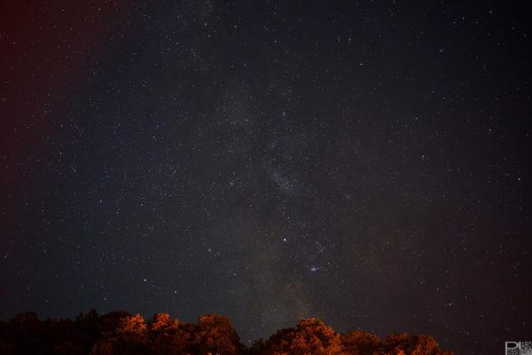 千歳支笏湖観光天の川撮影