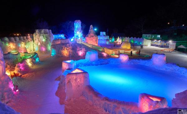 千歳支笏湖観光氷濤まつり