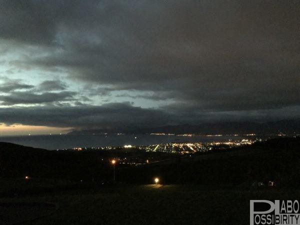 岩内オートキャンプ場マリンビュー,いわないリゾートパーク日本夜景遺産