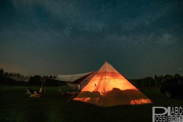 北海道キャンプ場,予約なし,おすすめキャンプ場,札幌近郊天の川