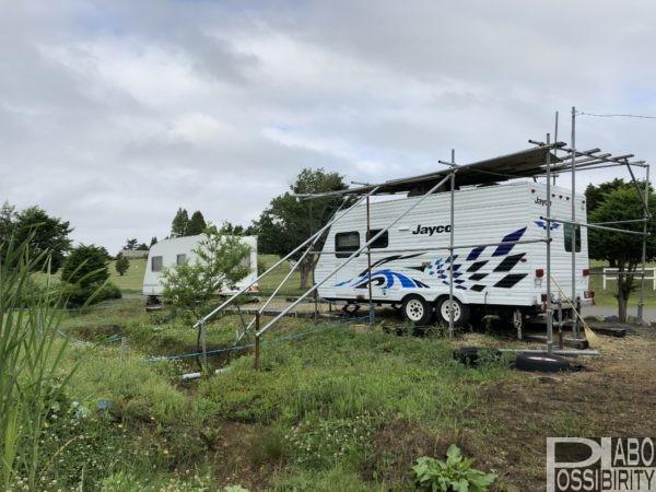 ファミリーパーク追分オートキャンプ場冬営業通年営業
