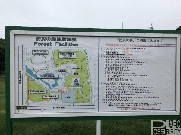 防災の森キャンプ場,デイキャンプ無料,焚火禁止,サイト情報,千歳