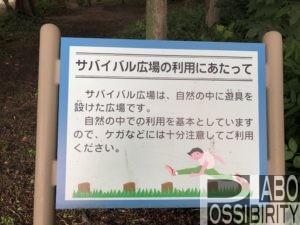 防災の森キャンプ場