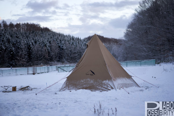 雪中キャンプ,冬キャンプ,北海道キャンプ,マイナス,体験談,北海道,テント泊,キャンプの1日