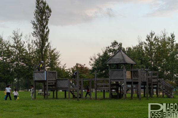 北海道おすすめキャンプ場,ファミリーキャンプ,遊具施設,子供連れ,家族,子ども向け北海道南幌町三重緑地公園キャンプ場