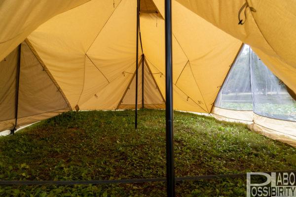 サバティカル,スカイパイロットTC,テント,設営,機能性,遮光性,撥水性,保温性,重さ,大きさ,ブログ,レビュー,写真