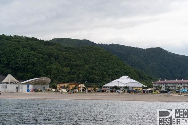 北海道豊浦海浜公園キャンプ場