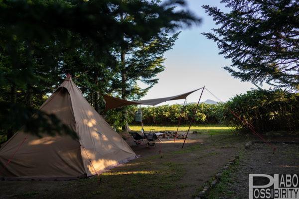 北海道蘭越町ニセコサヒナキャンプ場