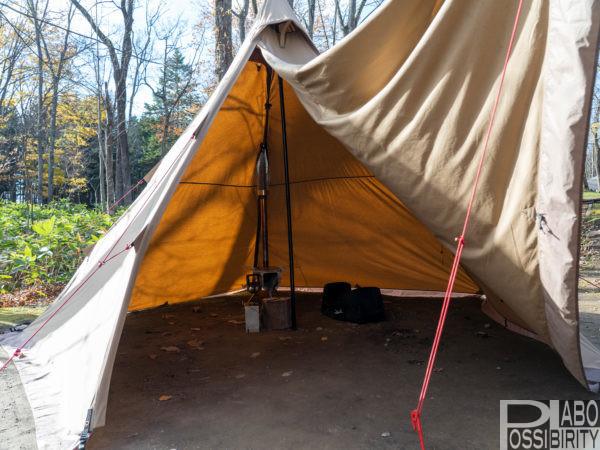 テンマクデザインサーカスTC,雨キャンプ,楽しみ方,注意点,対策方法,キャンプ用品,必需品,準備アイテム