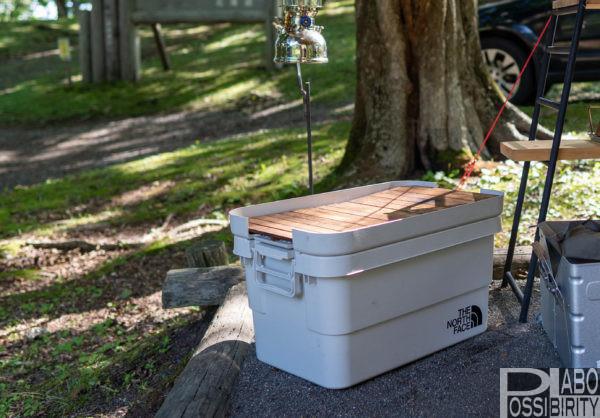 キャンプおすすめ収納アイテム,便利,おしゃれ無印良品ポリプロピレン頑丈収納ボックス