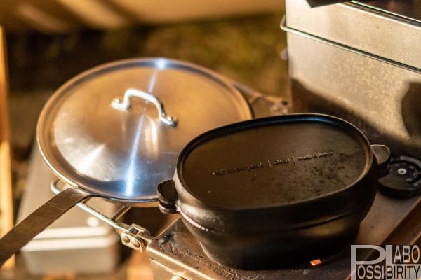 テンマクデザイン,薪ストーブ,ウッドストーブサイドヴュー,Mサイズ,スペシャルパケージ,火入れ,事前準備,体験,購入者レビュー,料理,温度,煙突,テント使用