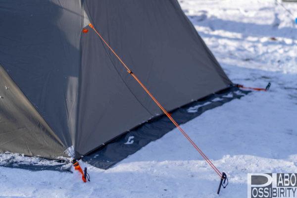 初心者,冬キャンプ,キャンプ用品,防寒対策,必須,必要,雪中キャンプ,便利,初めて,経験者,NEMOヘキサライトエレメントテント自作スカートDIY