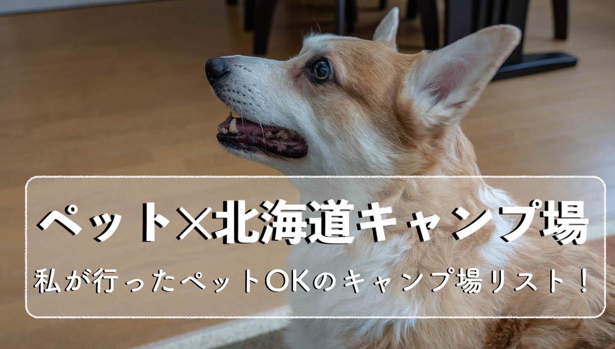 おすすめペットOK北海道キャンプ場