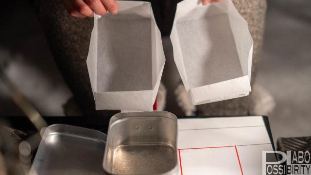 トランギア簡単メスティン折りの方法手順を解説。メスティン料理,上級者,クッキングシート