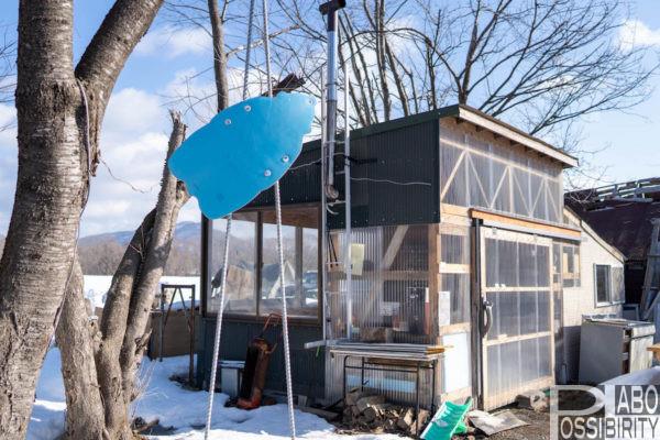 つどいの館キャンプ場,冬キャンプ,通年営業,登別市