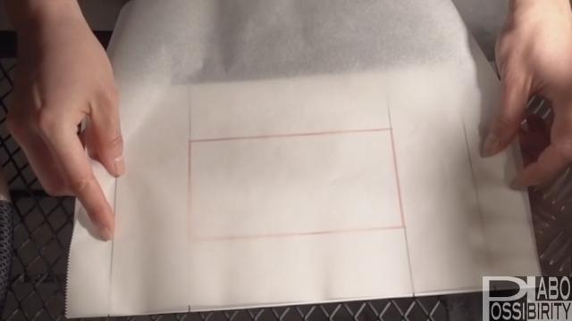 トランギア簡単メスティン折りの方法手順を解説,メスティン料理,上級者,クッキングシート