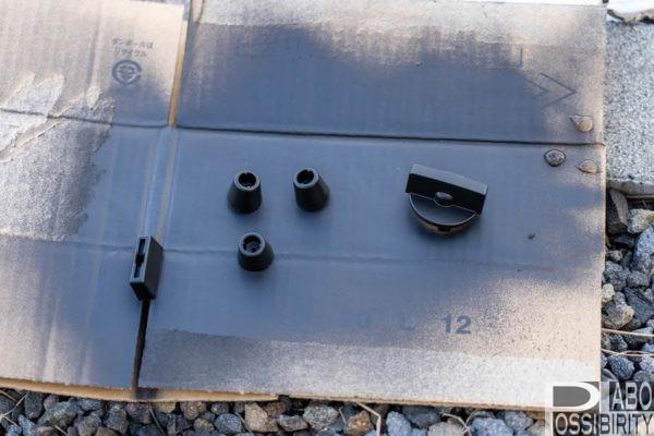 カセットガスコンロ,DIY,diy,塗装,スプレー,工具,アイテム,イワタニ,炉ばた炙りや,カスタマイズ,ステッカー,分解,こつ,手順,方法