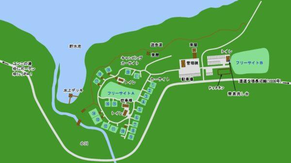 北海道キャンプ場,温水,お湯,給湯器付き,快適,おすすめ,人気,ブログ,高規格,通年営業,古山貯水池自然公園オートキャンプ場