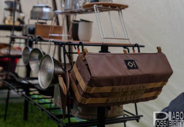 ハングアウト,HangOut,キッチンラック,キッチンテーブル,おしゃれ,キャンプ用品,折りたたみ,おすすめ,選び方,シェルフ,棚,ブログ